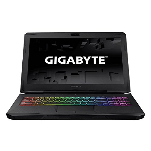 GIGABYTE SabrePro 15W-KB3 15.6' Inch Notebook FHD 7th Gen Intel Kabylake i7-7700HQ NVIDIA GeForce GTX 1060 GDDR5 6GB VRAM DDR4 2400 16G RAM M.2 SATA 256GB SSD 1TB 7200rpm HDD Windows 10 Gaming Laptop