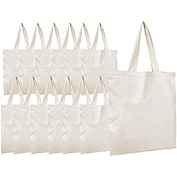 Amazon.com: Bolsa de lona bolsas, segarty 3 piezas Natural ...