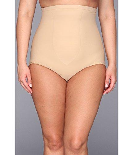 TC Fine Intimates Women's Plus Size Just Enough Hi-Waist Brief 4005, Nude, 2X