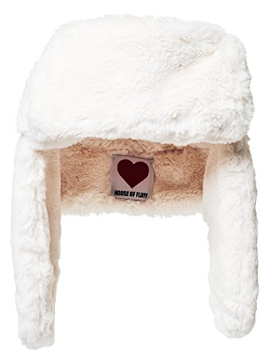 House Of Fluff Women's Faux-fur Explorer Hat O/S White by House Of Fluff
