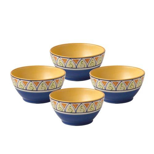 Pfaltzgraff Earthenware Bowls - Pfaltzgraff Villa Della Luna Everything Bowl (16-Ounce, Set of 4)