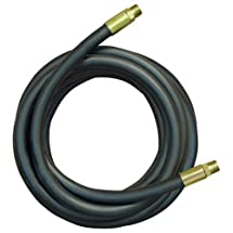 """Apache 98398238 3/8"""" x 48"""" 2-Wire Hydraulic Hose Male x Male Assembly"""