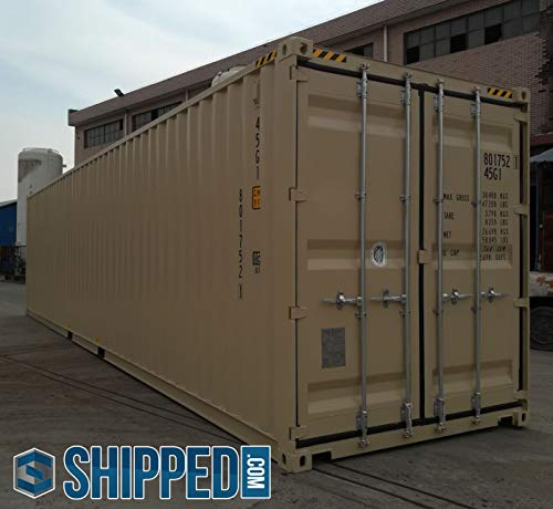 (40ft New One Trip General Purpose High Cube Steel Shipping Container/Secure, Outdoor, Portable Storage Shed / 40' Cargo Container - Dallas,)