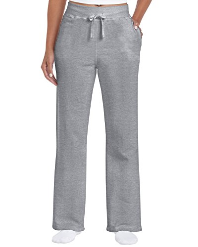 Gildan Open Bottom Sweat Pant XL, Sportgrey
