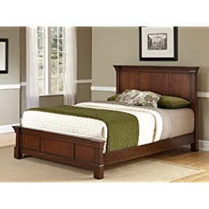 Home Styles 5521-5015 The Aspen Collection Queen/Full Headboard and Night Stand-Parent