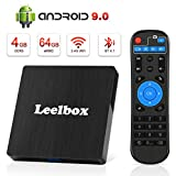 Leelbox Android 9.0 TV Box with 4GB RAM 64GB ROM 4K Android TV