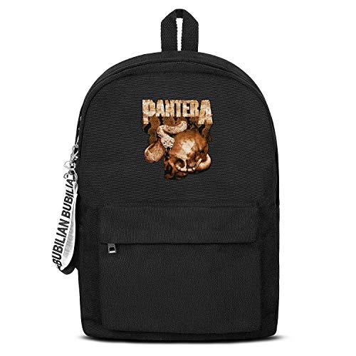 - Sport Bag Convenient Black Letter College Canvas Backpack for Girls