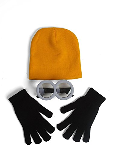 The Minion Kids Costume Combo Kit (Minions Movie: Minion Kevin Adult Costume)