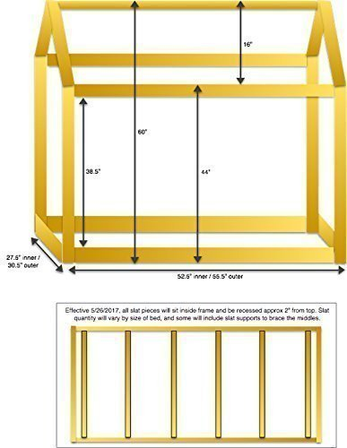 House Bed Frame Bed