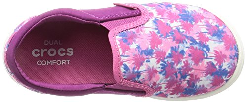Crocs Kids' Citilane Novelty K Slip-on, Pink Palm, 12 M US Little Kid by Crocs (Image #7)