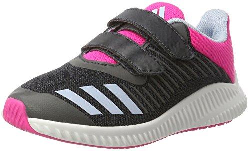 adidas Fortarun CF K, Chaussure de Sport Unisexe - enfant Gris (Dkgrey/Easblu/Shopin)