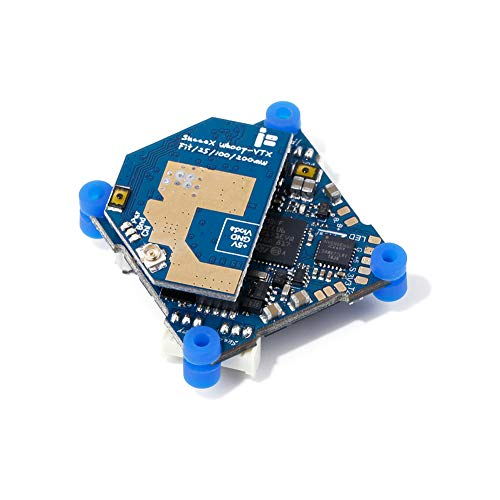 iFlight SucceX F4 Whoop Flight Controller 2-4S 12A BlheliS ESC AIO Board with PIT/25/100/200mW Transmitter VTX for Micro FPV Racing Drone Quadcopter