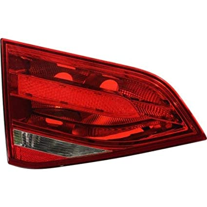 s Halogen Tail Light For 2011-2014 Mazda 2 Left Clear /& Red Lens w// Bulb