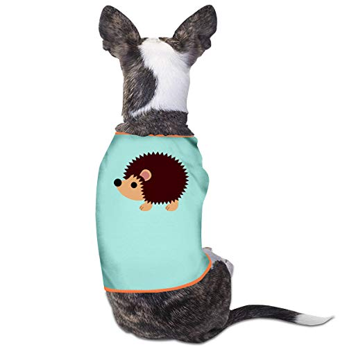 Jmirelife Puppy Dogs Shirts Costume Pets Clothing Hedgehog Small Dog Clothes Vest -