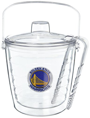 Tervis 1052266 NBA Miami Heat Primary Logo Ice Bucket with Emblem and Clear Lid 87oz Ice Bucket, (Miami Ice Bucket)