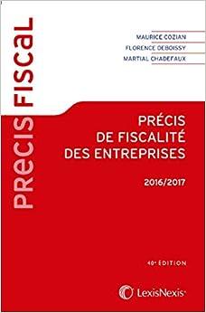 Book Précis de fiscalité des entreprises