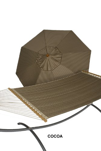 Phat Tommy 9 Ft. Wood Sunbrella Patio & Garden Quilted Re...
