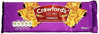 Crawford's Garibaldi Biscuits 100g (Pack of 3) by Crawfords