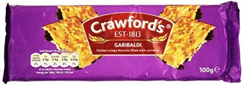 Crawford's Garibaldi Biscuits 100g (Pack of 3)
