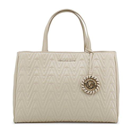 Women Genuine Brown Designer Handbag Jeans Versace rxArIn1wqg