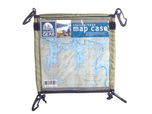 Granite Gear Map Cases – (Thunderhead,Regular), Outdoor Stuffs