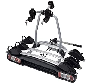 Menabo 000040800000 Winny Plus Soporte de Bicicletas con 3 Carriles, en Aluminio