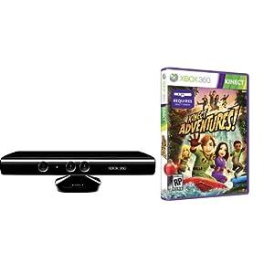 Xbox 360 - Kinect Sensor inkl. Kinect Adventures