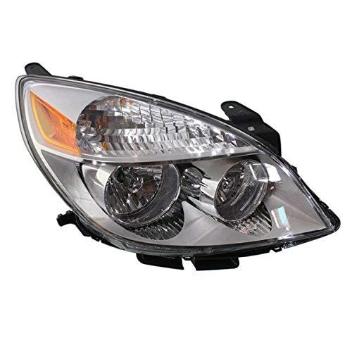 Koolzap For 2007-07 Aura Front Headlight Headlamp Halogen Head Light Lamp w/Bulb Right Side
