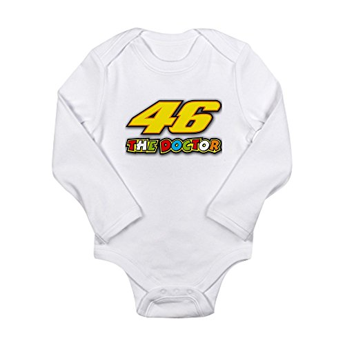 CafePress - Valentino Rossi Body Suit - Cute Long Sleeve Infant Bodysuit Baby Romper