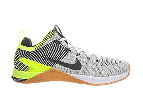 Nike Men's Metcon DSX Flyknit 2 Running Shoe (14, Black/White/Orange/Yellow) (Nike And Orange Yellow Shoes)