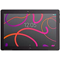 BQ Aquaris M10 - Tablet de 10.1 Pulgadas HD (WiFi, MediaTek Quad Core MT8163B hasta 1.3 GHz, 2 GB de RAM, 16 GB de Memoria Interna, Android 5.1 Lollipop), Color Negro