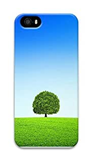 iPhone 5 5S Case A Tree Blue Sky And White Clouds 3D Custom iPhone 5 5S Case Cover