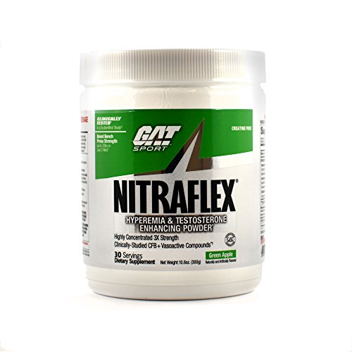 GAT Nitraflex – Green Apple – 300 g For Sale