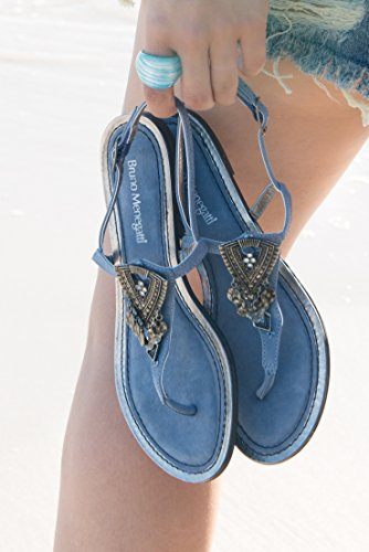 Bruno Menegatti Resort Sandale En Cuir Jean