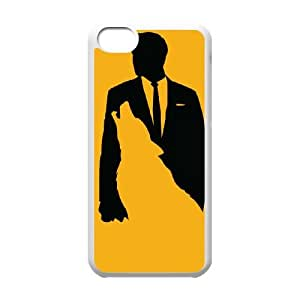 iPhone 5c Cell Phone Case White Wolf Of Wall Street lsbg