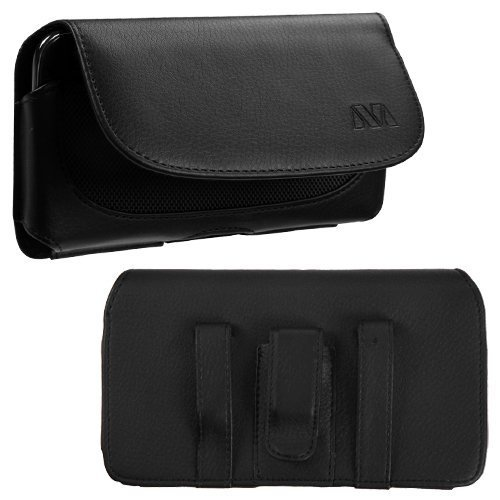 Vertical Flip Leather Cover for Sony Xperia C3 (Black) - 3
