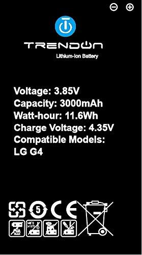 LG G4 Battery : TrendON LG G4 Battery kit