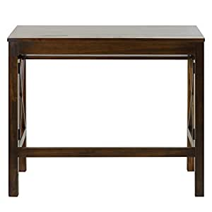 Amazon Com Casual Home Montego Folding Desk With Pull Out