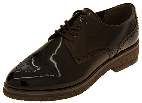 Scarpe Tozzi Footwear Mocha Brogue Marco Studio Donna fxZqwz