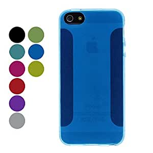 Mini - Transparent Style Soft Case for iPhone 5/5S Color: White