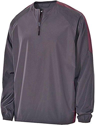 Holloway Sportswear MEN'S BIONIC 1/4 ZIP PULLOVER Men's L (1/4 Zip Adult Pullover)