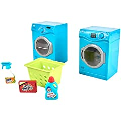 Set your little one's imagination free when you bring home the Laundry Room Play Set from My Life As. This toy set includes all of the appliances and accessories your son or daughter needs to fully equip their doll house or play area and is s...