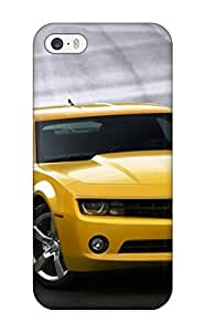 5/5s Scratch-proof Protection Case Cover For Iphone/ Hot Camaro Car Phone Case(3D PC Soft Case)