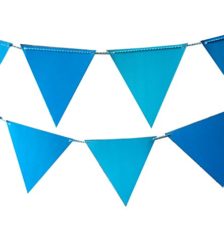 Quasimoon Triangle Pennant Banner PaperLanternStore product image
