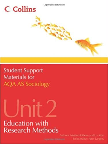 Book AQA AS Sociology Unit 2: Education with Research Methods (Student Support Materials for Sociology)