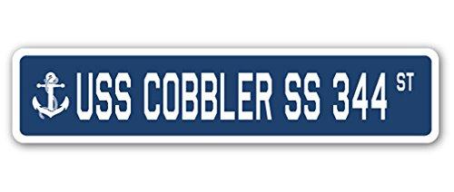 "SignMission 4"" X 18"" Aluminum Sign, Cobbler Ss 344"