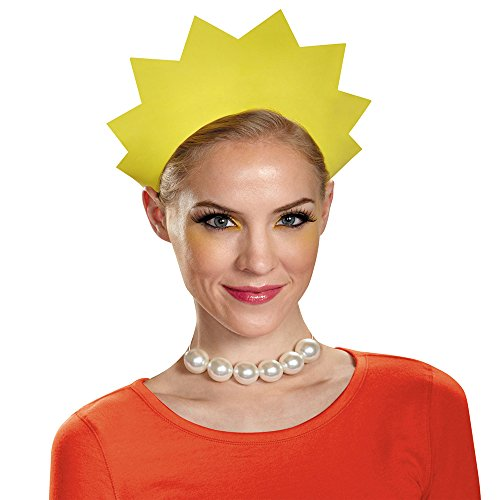 Disguise Women's Lisa Headband, Yellow, One