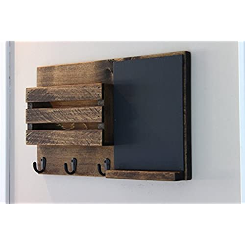 Amazoncom Dwellbee Metal Wall Storage And Mail Sorter 3tier
