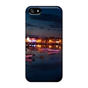 Fashion Protective Sleepy Harbor In Early Morning Case Cover For Iphone 5/5sKimberly Kurzendoerfer