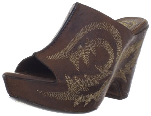 Ariat Women's Summerside Sandal,Dark Brown,7 M US (Clogs Ariat Leather)